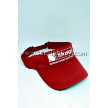Apparel Mustad Visor Cap Red