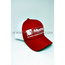 Apparel Mustad Trucker Cap Red