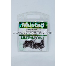 Accessories Mustad SLSnap w BBearing Swivel Sz2.2