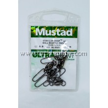 Accessories Mustad SLSnap w BBearing Swivel Sz5.5
