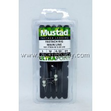 Accessories Mustad Fastach Rig M 0.80mm 60LB