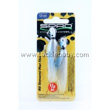 Lure SPRO Phat Fly Jig 1-8oz Blue Shad