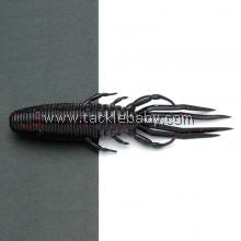 Raid Buggy Craw 4in 019 BLACK RED FLK