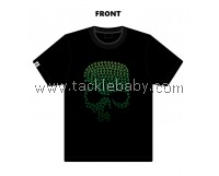 Limited Edition Green Skull Cotton BONE T-shirt Size XS