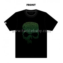 Limited Edition Green Skull Cotton BONE T-shirt Size S