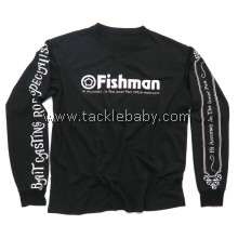 Fishman Long Sleeve Black Shirt (Size M)