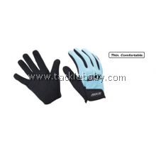 BKK Full Fingered Gloves Blue Size L