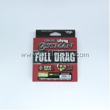 YGK Galis Ultra Castman Full Drag WX8 GP-D 300m PE5 (80LB)