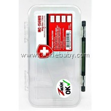 Storage  Tackle Tactics Monocross T Tray MC156WB Clear
